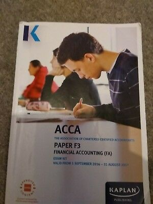 KAPLAN ACCA STUDY Exam Kit F7 Financial Reporting (FR)(2018-2019