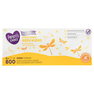 Parent's Choice Fresh Scent Baby Wipes (Choose Your Count)Top Quality