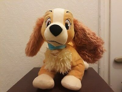 disney lady and the tramp lady soft plush toy ( 15 inches )