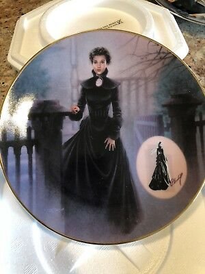 Gone With The Wind 1994 Collector Plate The Mourning Gown Costuming Legend