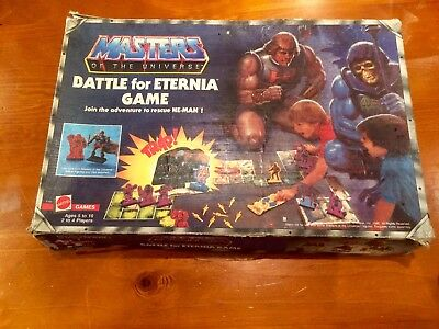 Masters of The Universe - Battle For Eternia - The Game - 1985 ORIGINAL