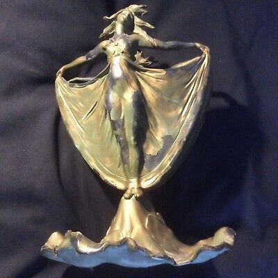 Art Nouveau Double Sided Nymph Dancing Maidens Judd Vase
