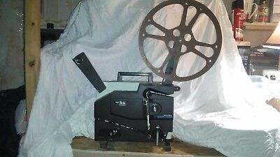 Vintage Elmo 16-CL Optical Channel Loading Film Projector,clean working shape