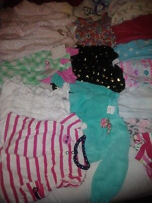 Girls baby clothes over 100 peices size 0-3 and 3-6 months