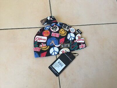 Rock Your Baby Patches   Hat Sz Medium  Bnwt Rrp $18