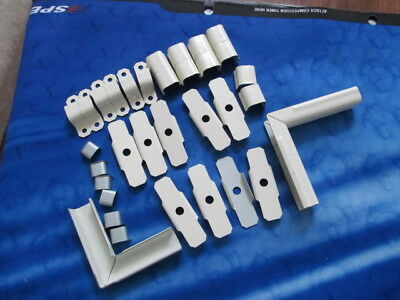33 pcs Wiremold Incompleted Accessory Kit B-9-10-11/Cordmate and Other Miscs