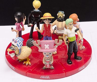 HTF One Piece and Coca Cola Collectible figures Complete set Japan Limited 2005