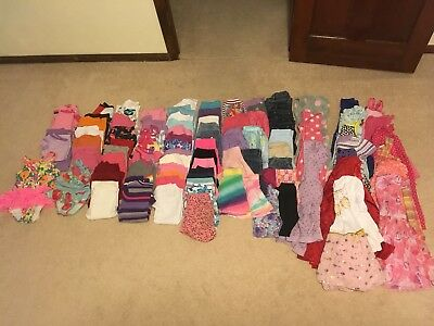 87 pc. Lot Of Girls Size 4T- 5T to create a wardrobe.