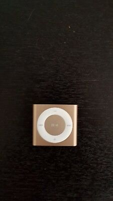 Apple iPod shuffle 4th Generation Gold (2 GB)