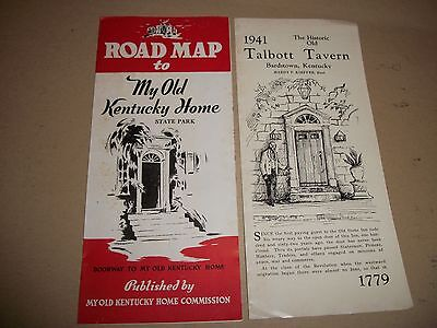 My Old Kentucky Home State Park & Talbott Tavern brochure (from the early 1940s)