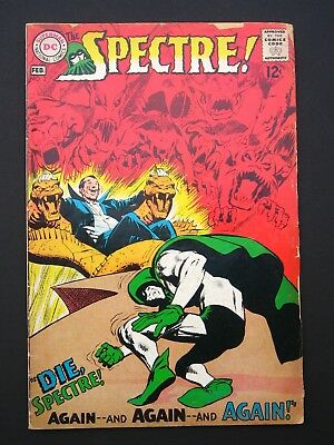 The Spectre! #2 VG+ 1968  Mid/Low Grade Silver Age DC Comic