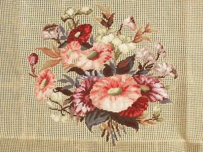 Finest Petit Point Beautifully Worked On A Large Piece Of Canvas  - Ready To Use