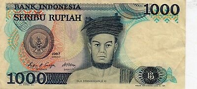 Bank Indonesia 1000 Seribu Rupiah Bank Note
