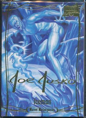 2016 Marvel Masterpieces Gold Signature Trading Card #62 Iceman /1499