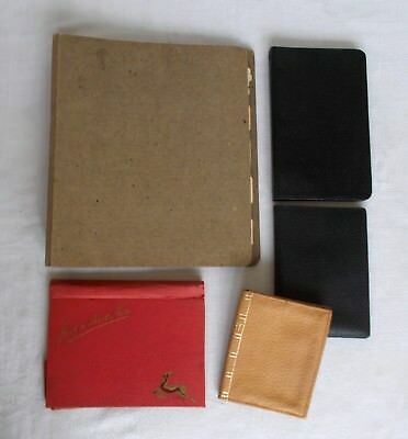 Collection Of Vintage Address Books And Folders