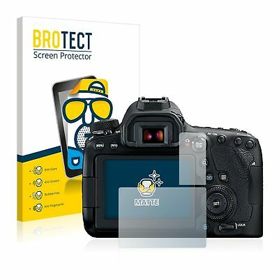 Canon EOS 6D Mark II, 2x BROTECT® Matte Screen Protector, anti-glare hard-coated