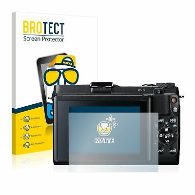 Canon Powershot G1 X Mark II, 2x BROTECT® Matte Screen Protector, anti-glare