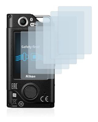 Nikon Key Mission 80 Camera, 6 x Transparent ULTRA Clear Camera Screen Protector