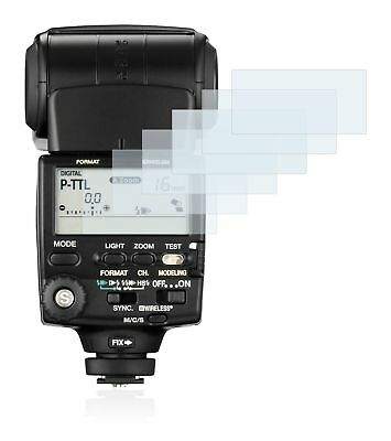 Pentax Flash AF-540 FGZ, 6 x Transparent ULTRA Clear Camera Screen Protector