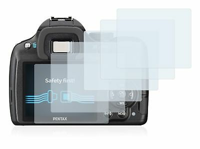 Pentax K-50  DSLR, 6 x Transparent ULTRA Clear Camera Screen Protector