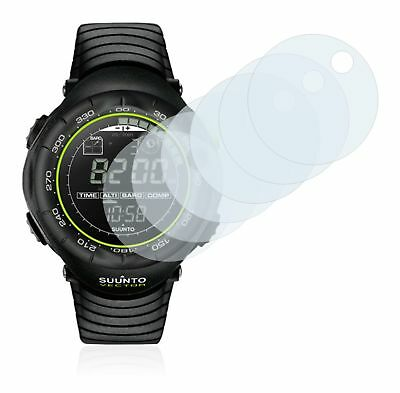 Suunto Vector Black Lime Watch, 6x Transparent ULTRA Clear Screen Protector