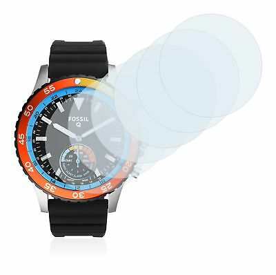 Fossil Q Crewmaster Smart Watch,  6x Transparent ULTRA Clear Screen Protector