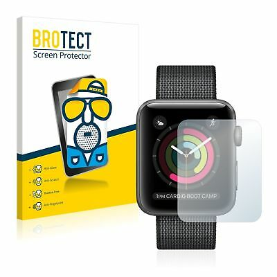Apple Watch Series 2 (42mm),  2 x BROTECT® Matte Glass Screen Protector