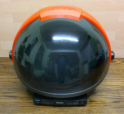 Retro Philips Discoverer Space Helmet Analogue TV