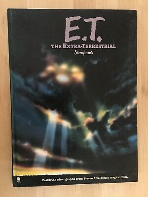 Vintage 1982 E.T. The Extra Terrestrial Storybook Book Spielberg