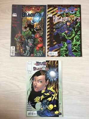 DV8 vs. Black Ops #1 - 3 (komplette Mini-Serie) US IMAGE Comics