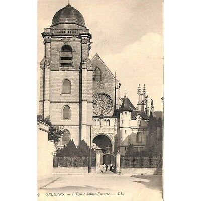 [45] Orléans - L'Eglise Sainte-Euverte.