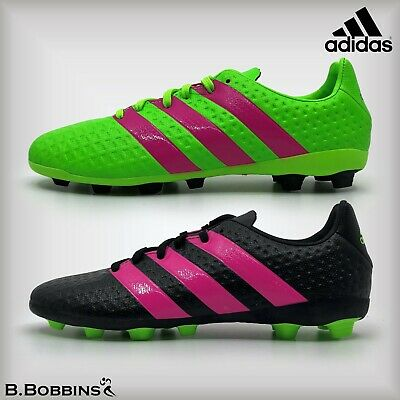 brand new f14e1 7a8b5 Adidas ACE 16.4 FxG Junior Size UK 5 Boys Girls Ladies Football Boots AF5034