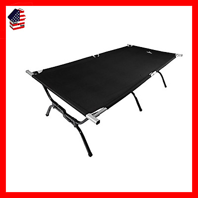 TETON Sports Outfitter XXL Camping Cot; Camping Cots for Adults; Folding Cot Bed