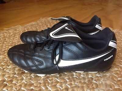 Nike Tiempo Football Boots Black EUR Size 38.5