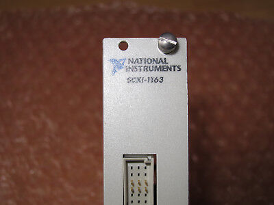 SCXI-1163 32-Channel Digital Out   National Instruments SCXI -- NI PXI Labview