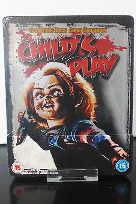 Blu ray steelbook Chucky Child's Play Zavvi avec VF Neuf