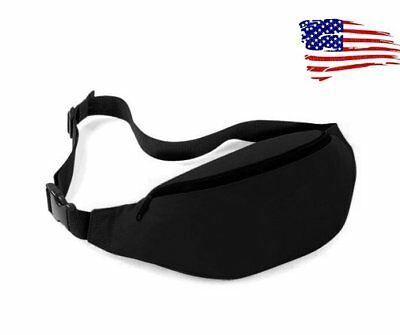 Running Sport Bum Bag Fanny Pack Travel Waist Money Belt Zip Hiking Pouch Wallet