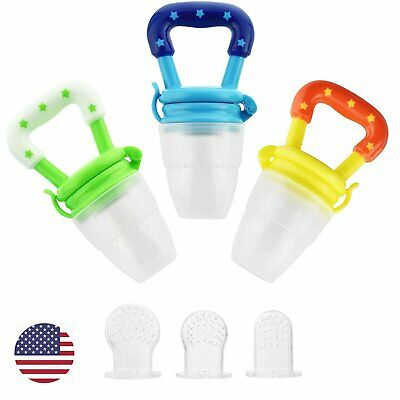 Baby Food Feeder Fresh Fruit Feeder Teether Nipple Feeding Nibbler Teething Toy