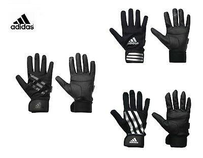 Adidas Outdoors Full Finger Gloves Crossfit Training Gym Fitness Sports