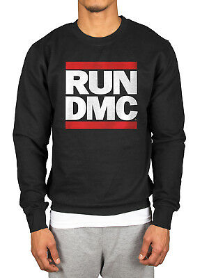 Official Run DMC Logo Sweatshirt Raising Hell Back From Hell Down With The King