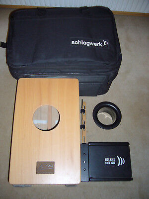 Schlagwerk Cajon la peru(CP 4011)+Side kick +Basstube+Bag!!