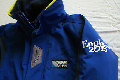 Musto Jacke Breathable Segeln Gr. S-M RUGBY WORLD CUP ENGLAND Team-Jacket Medium