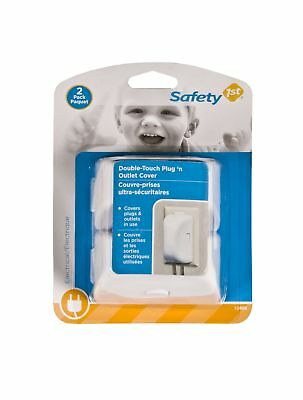 Safety 1st Double-Touch Plug 'N Outlet Covers 2 Pack