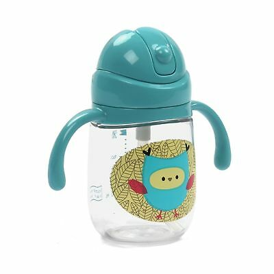 Sippy Cup with Straw For Baby and Toddler - No Spill, Leak-Proof, Easy Grip, ...