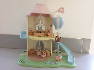 Sylvanian Families Primrose Windmill, including baby mobile with attachments.