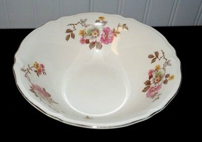 Vintage Edwin Knowles BLOSSOM TIME Round Vegetable Bowl      (G5)