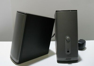 BOSE Companion 2 Series II multimedia speakers, good working condition