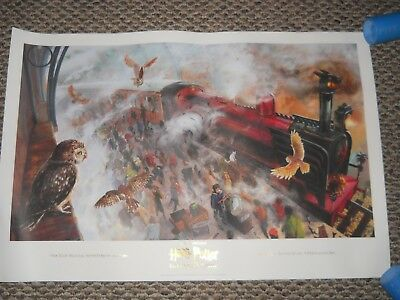 Scholastic Harry Potter and the Sorcerer's Stone Art Print Poster