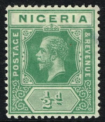 Sg 1 Nigeria 1914 – Halfpenny Green – Mounted Mint
