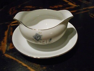 Royal Taunton Gravy Boat w/ attached Underplate-Fine China